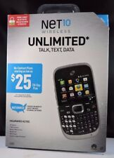 New!! Net10 Wireless Huawei H210C - Cell Phone - Black / Silver - NO CONTRACT!