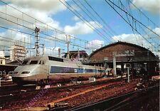 CP 33000 BORDEAUX SAINT JEAN Train gare TGV rame 317 Edt VOLPI