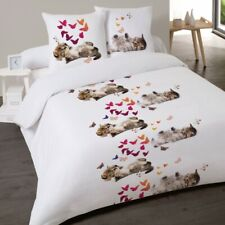 Housse de couette CHAT SWEET KITTY 200 x 200 +2 Taies Coton 100%