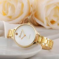 Luxury Women GENEVA Stainless Steel Quartz Analog Watches Bracelet Wrist Watch