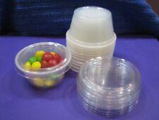 Souffle Cups & Lids 2oz. plastic-Condiment portions 300