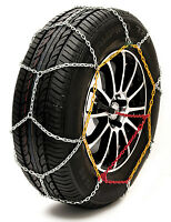 """Sumex Husky Winter Classic Alloy Steel Snow Chains for 15"""" Car Wheel Tyres -PAIR"""