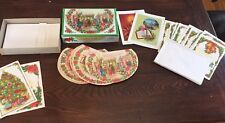 Vintage Box 27 Christmas Cards Coronation Collection Envelopes