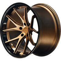 20x10.5 Bronze Black Wheel Ferrada FR2 5x112 25