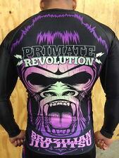 BJJ Rashguard Primate Revolution Brand Meerkatsu design MMA