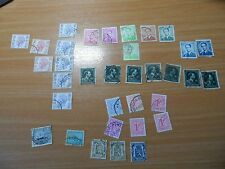 Bundle of vintage Belgium stamps