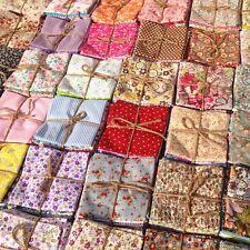 50X Random Pattern Pre Cut Cotton Fabric Bundle Patchwork For Crafts Sewing DIY