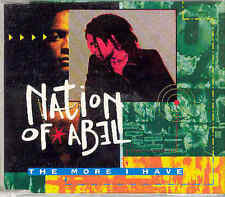 Nation of Abel-The More I have, CD-Single