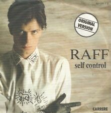 Raff-Self Control Part I & II (Vinile-Single 1984)!!!