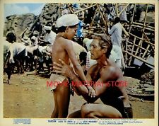 "Jock Mahoney Tarzan Goes To India Original British 8x10"" Photo #M2432"