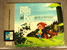 BILLY & BEN PICNIC IN THE FOREST by YVAN DELPORTA H/B  MERRY-GO-ROUND BOOKS 1972
