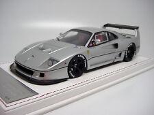 1/18 Davis & Giovanni Ferrari F40 Competizione Silver Black OZ Wheels Miniwerks
