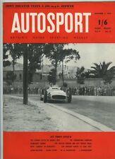 AUTOSPORT DICEMBRE 3rd 1954 * Raymond Mays Ford Zephyr TEST *