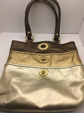 Coach Leatherware Limited Edition Archive Handbag - Metallic (Model A0973)