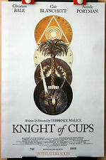 Art : Terrence Malick : C Bale : Knight Of Cups : POSTER