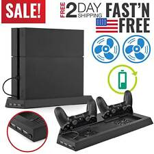 PS4 Pro Stand Vertical Cooling Controller Charger Charging Station Charging Dock