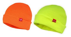 Traega HAT-AC Coloured Hi Visibility Acrylic Beanie Style Hat Cold Protection
