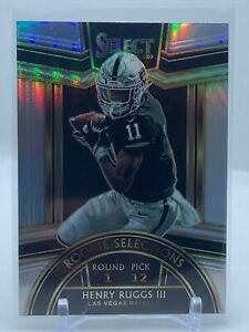 HENRY RUGGS III #RS-5 - 2020 SELECT Football - Rookie Selections SILVER PRIZM