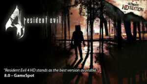 Resident Evil 4 Ultimate HD Edition Steam Game Key (PC) - Region free -
