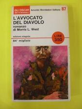WEST - AVVOCATO DEL DIAVOLO - ED.A.MONDADORI - 1°ED.1966