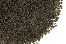 Black Sesame Seed~Whole seed 1oz bag  delicate, nutty taste