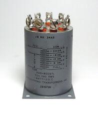 JB Audio-Übertrager / Transformator, 5 kOhm auf 8 Ohm, -24 bis 0 dB Anzapfungen