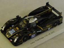 Spark S3752 - LOTUS T128 Praga n°32 Le Mans 2013 Charouz - Holzer 1/43