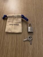 louis vuitton padlock And Key Brand New