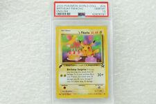 Pokemon psa 10 black star birthday pikachu Non-Holo