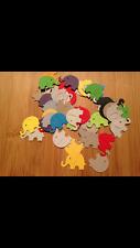 Scrapbooking- Card & Craft Making Embellishement-   50 Elephant Punchies