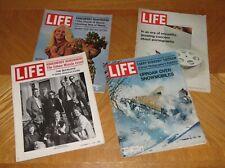 Life Magazine Lot 1970 August 28 December 11 18 February 26 1971 Vintage Ads