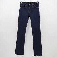 J Brand Slim Boot Leg Jeans Womens W27 L33 Starless Dark Blue Wash Stretch Denim