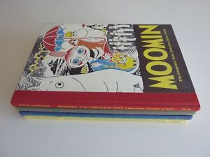 Moomin: The Complete Tove Jansson Comic Strip by Tove Jansson Book 1-4