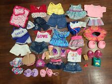 BUILD A BEAR LOT ~ Girl Clothes Shoes Accessories BABW Set