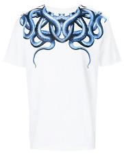 Dettagli su AUTHENTIC T shirt grigio chiaro con stampa ali Marcelo Burlon County of