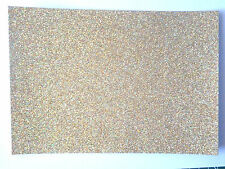 10 x A6 sheets quality Fixed Low shed Glitter card  220 gsm 22 lovely colours