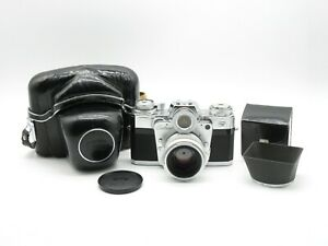 Zeiss Ikon Contarex I Bull's Eye SLR Kamera + Carl Zeiss Planar 1:2 f=50mm