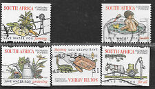 SOUTH AFRICA 1997 NAT. WATER CONSERVATION CAMPAIGN COMPLETE POSTAL USED SET 0115