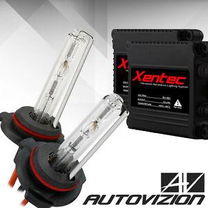 55W HID Conversion Kit Xenon Light Bulbs Slim Digital Ballasts 9005/9006/9007/4
