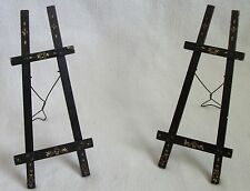 rare arts and crafts cabinet card photo holders 19th c.