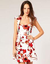 Karen Millen Cotton Blend Party Floral Dresses for Women