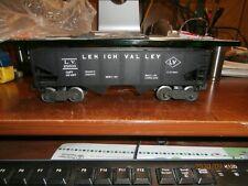 LIONEL O-SCALE POST-WAR  HOPPER CAR-LEHIGH VALLEY--25000