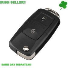 Volkswagen Bora Golf Passat Polo Touran Key shell fob VW 2 Buttons with Blade!