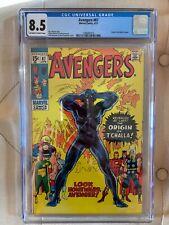 Avengers #87 - CGC 8.5 - Origin of Black Panther