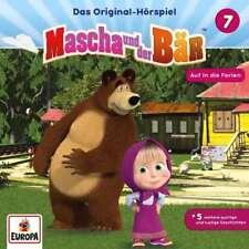CD * MASCHA UND DER BÄR - HÖRSPIEL 7 - AUF IN DIE FERIEN # NEU OVP =