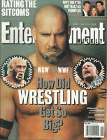 WCW  WWF WRESTLING Stone Cold Steve Austin Hulk Hogan The Rock 1999 EW magazine