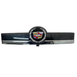 Cadillac License Cover Finish Panel Applique 09-14 Escalade ESV Carbon Flash