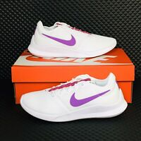 Nike Air Zoom VTR Women's Running Shoes White Purple Athletic Workout Sneakers