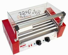 More details for new 7 roller hot dog  sausages grill cooker with cover