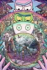 Rick And Morty TV Animation Digital Art Poster T475 |A4 A3 A2 A1 A0|